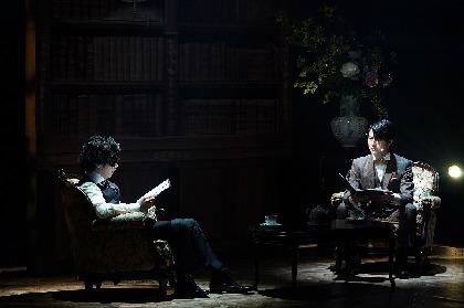 リーディングシアター『緋色の研究』が開幕 松村龍之介×鈴木勝吾による公演レポートが到着
