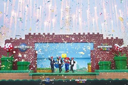 『SUPER NINTENDO WORLD』建設着工式実施   あの『マリオカート』がテーマパークの常識を超える興奮のライド・アトラクションとして登場