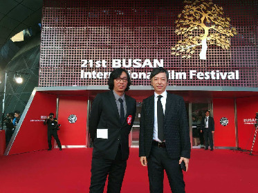 行定勲監督が初ロマンポルノを引っさげ『第21回釜山国際映画祭』レッドカーペットに登場 公式上映ではキム・ギドク監督が作品を絶賛