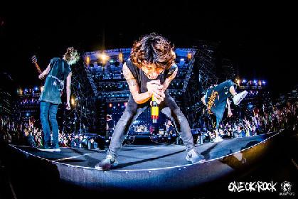 ONE OK ROCK台湾公演がスペシャでOA、バックステージやオフのメンバーにも密着