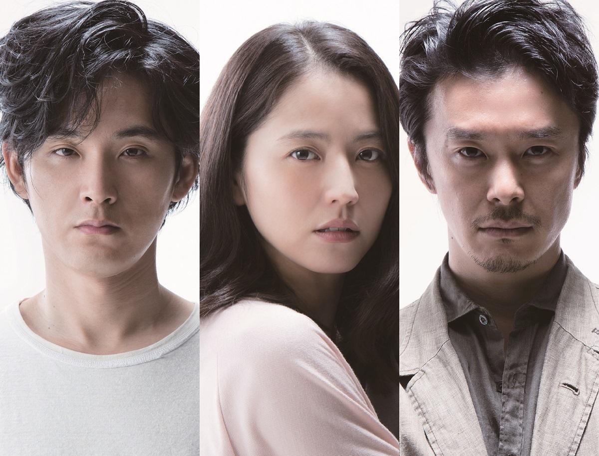 左から、松田龍平、長澤まさみ、長谷川博巳