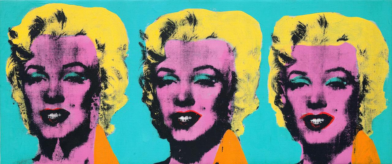 アンディ・ウォーホル 《三つのマリリン》 1962年 アンディ・ウォーホル美術館蔵 (C)The Andy Warhol Foundation for the Visual Arts, Inc. / Artists Rights Society (ARS), New York