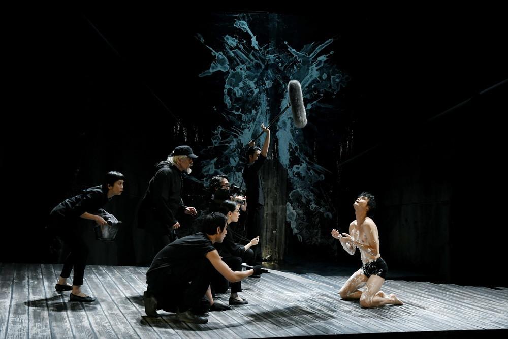 世田谷パブリックシアター『岸 リトラル』  撮影=細野晋司