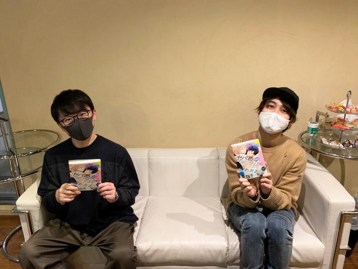 写真左:阿部敦さん/写真右:中島ヨシキさん
