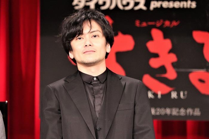 小西遼生 ミュージカル『生きる』製作発表より
