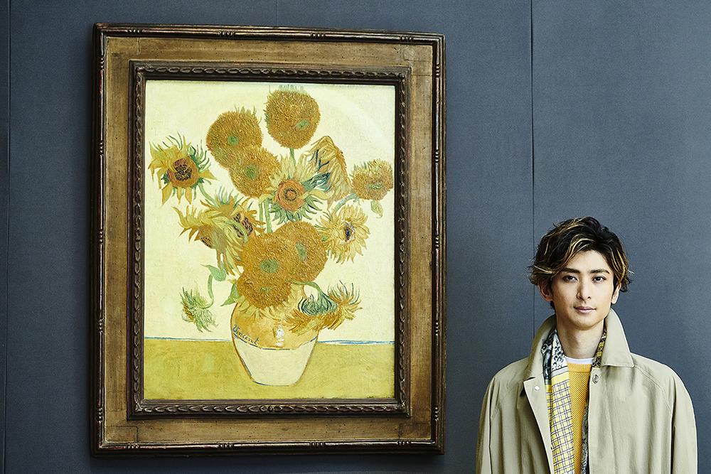 『ロンドン・ナショナル・ギャラリー展』音声ガイド・古川雄大/フィンセント・ファン・ゴッホ《ひまわり》1888年