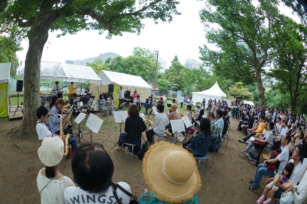 スイングカーニバル  (写真提供:日比谷音楽祭)