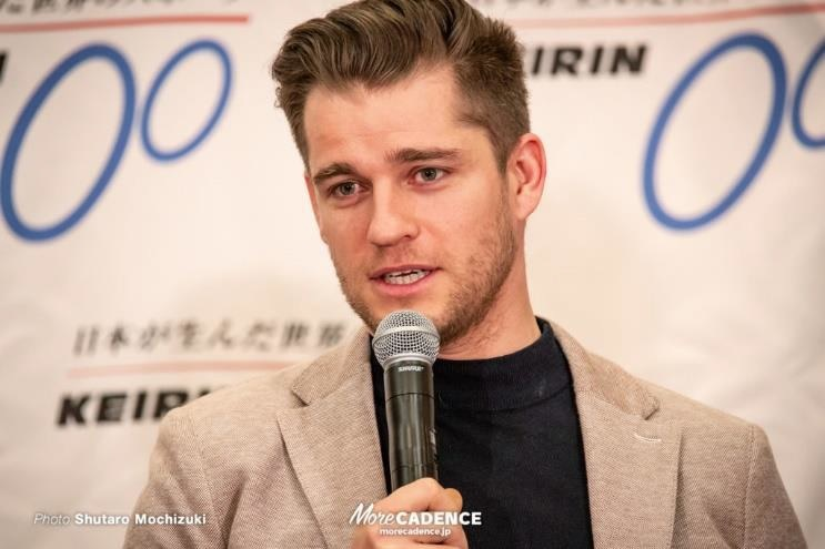 『バンクリーグ 2019』の広島ステージに参戦するテオ・ボス