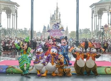 """東京ディズニーリゾート、35周年を祝う""""史上最大の祭典""""が開幕 ミッキー、ミニーらも駆けつけ「Happiest Celebration!」"""