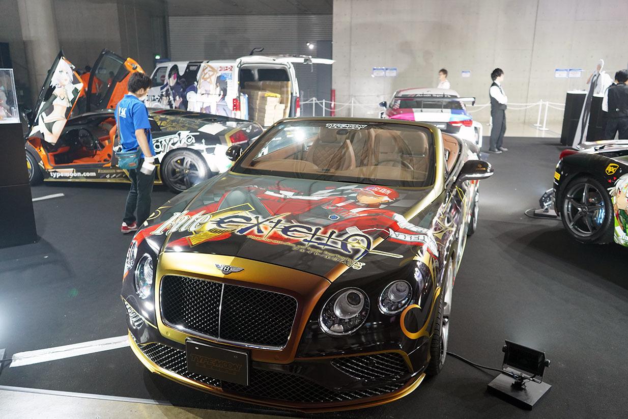 痛車も多数展示されていた 撮影:斉藤直樹