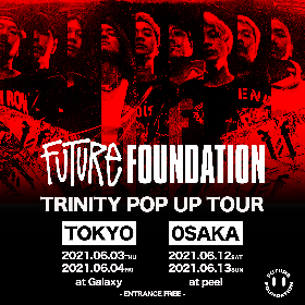 FUTURE FOUNDATION、東京・大阪でポップアップストアを開催