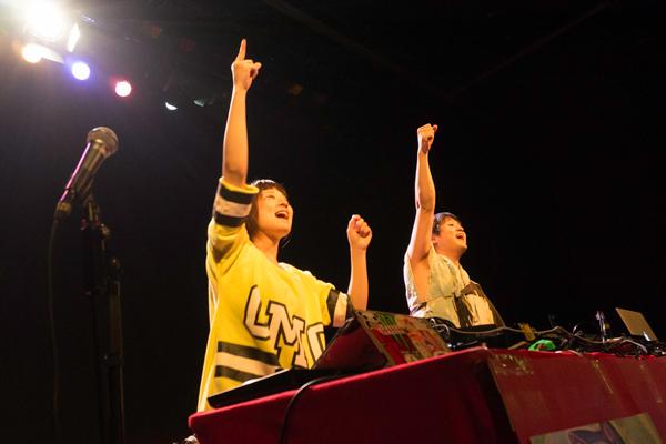 DJちっぺとDJなびこは北海道からの参加