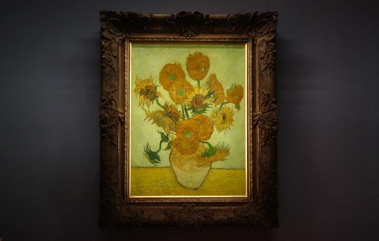 フィンセント・ファン・ゴッホ《ひまわり》1888 油彩・キャンヴァス SOMPO美術館