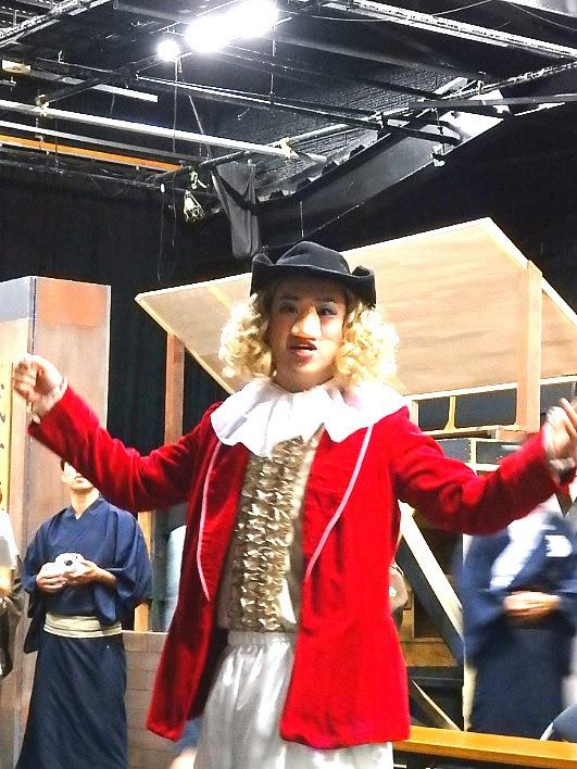 サヤーテ役は劇団随一の歌唱力を誇る4期生の藤戸佑飛