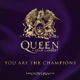 """クイーン+アダム・ランバート、「We Are The Champions」""""ロックダウン・バージョン""""を配信リリース(コメントあり)"""