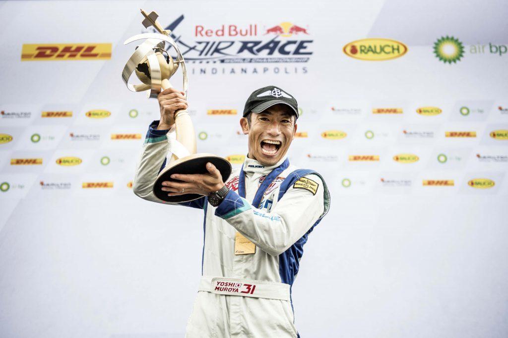 日本人唯一の参戦パイロット、室屋義秀選手 ©︎ Joerg Mitter / Red Bull Content Pool