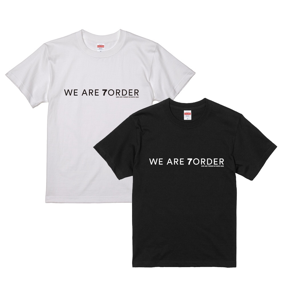 Tシャツ<ホワイト/ブラック> 価格:3,500円(税込)  ※画像はイメージです。