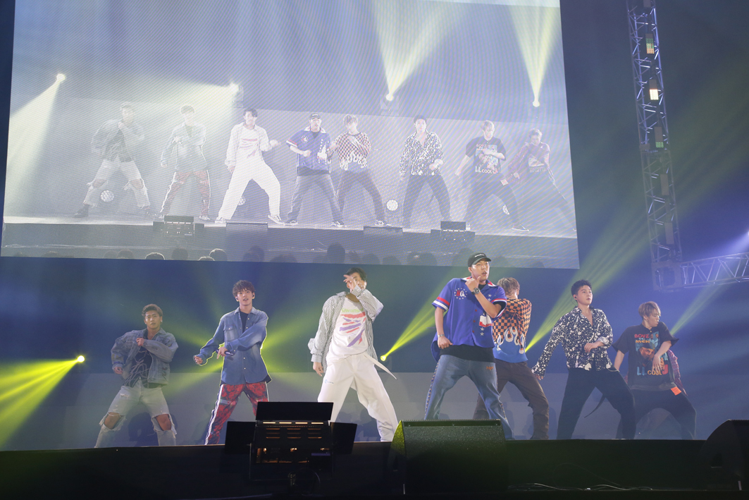 FANTASTICS『LIVE MONSTER LIVE 2018』 PHOTO:堀田芳香