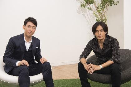 錦織圭とB'zの稲葉浩志が初対談、世界の第一線で勝負する想いや2017年の目標を語り合う
