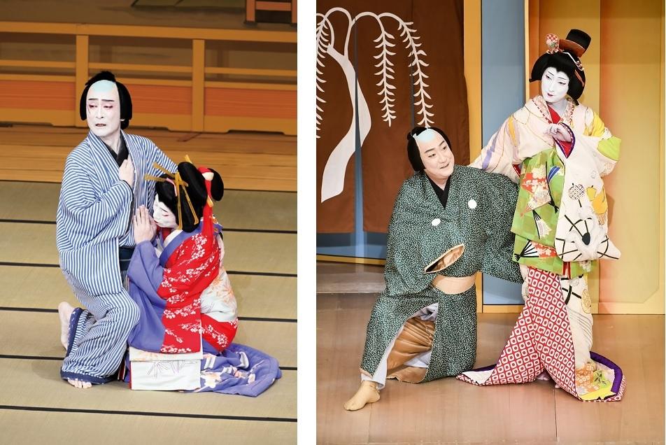 (左から)『恋飛脚大和往来 封印切 』、『銘作左小刀 京人形』 (C)松竹株式会社