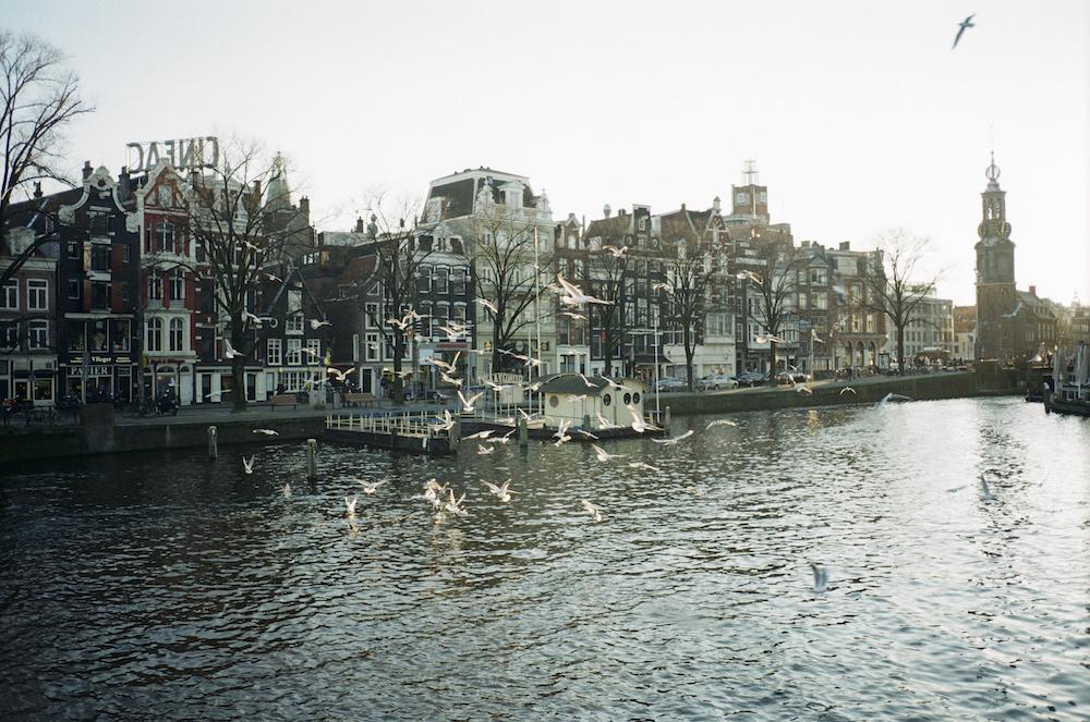 フェルメールのある場所、 その空気、 名画を巡る旅。 (アムステルダム市街)