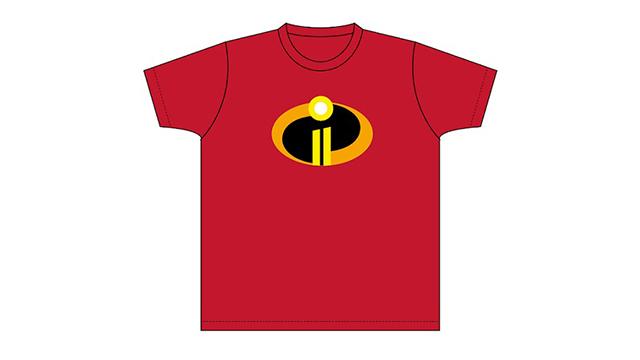 インクレディブル・バズーカタイムで打ち上げられる「インクレディブル・ファミリーオリジナルTシャツ」(非売品) ※画像はイメージです