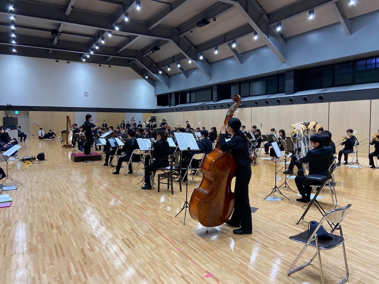 関西大学応援団吹奏楽部 練習風景