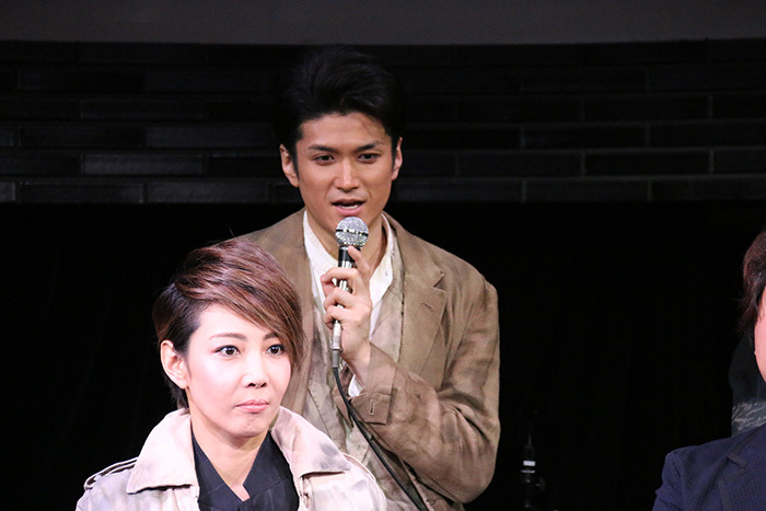 渡辺大輔、柚希礼音