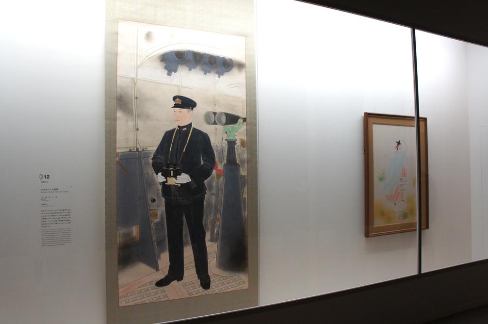 山本五十六元帥像 昭和18年11月[59歳] 1943 東京藝術大学