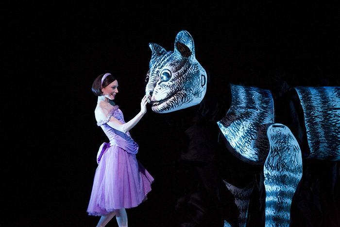 Alice's Adventures in Wonderland. Sarah Lamb as Alice (c)ROH, 2011. Photographed by Johan Persson