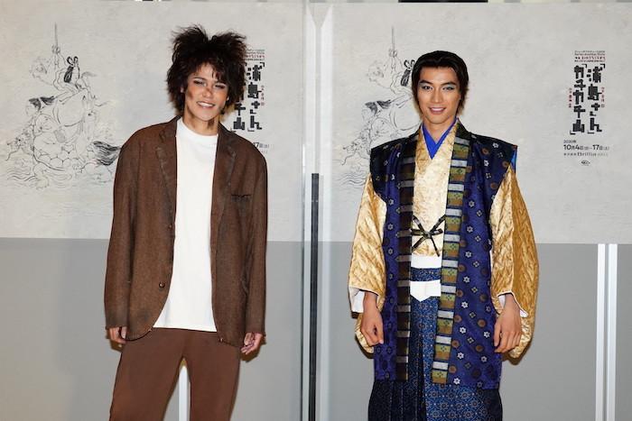 宮野真守と福士蒼汰(左から) 撮影:田中亜紀