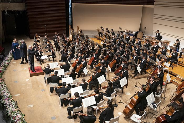 読売日本交響楽団 写真提供:東京・春・音楽祭実行委員会/撮影:青柳 聡