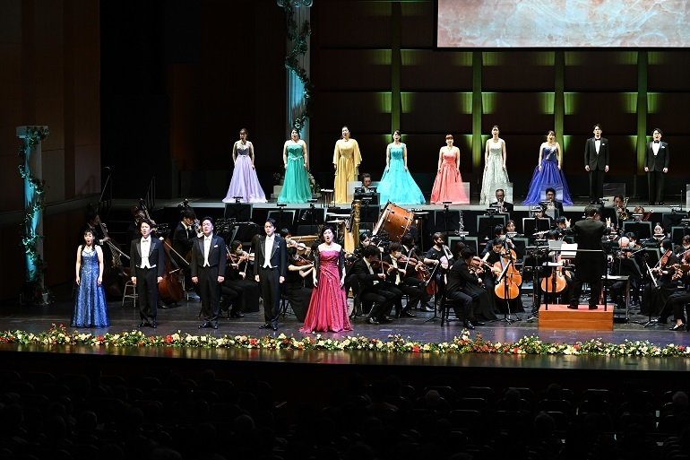 びわ湖ホールジルヴェスター・コンサート2020ー2021(2020.12.31) 撮影:栗山主悦