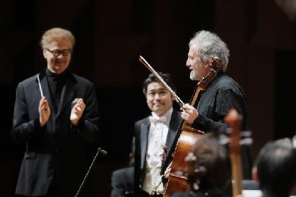 音楽監督デュメイが指揮する関西フィル「第279回定期演奏会」に、マリオ・ブルネロが登場!