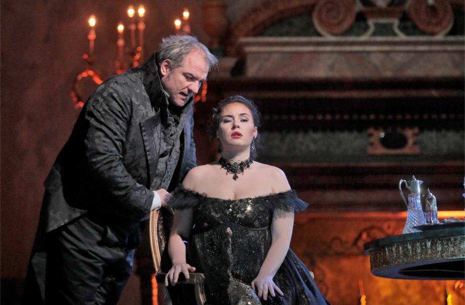 『トスカ』 ©Ken Howard/Metropolitan Opera