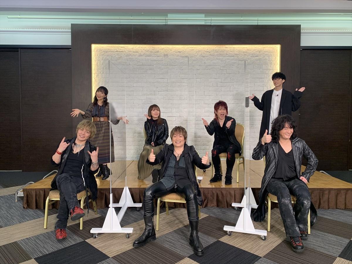 JAM project / オーイシマサヨシ / atsuko(angela) ©2021「GET OVER -JAM Project THE MOVIE-」FILM PARTNERS