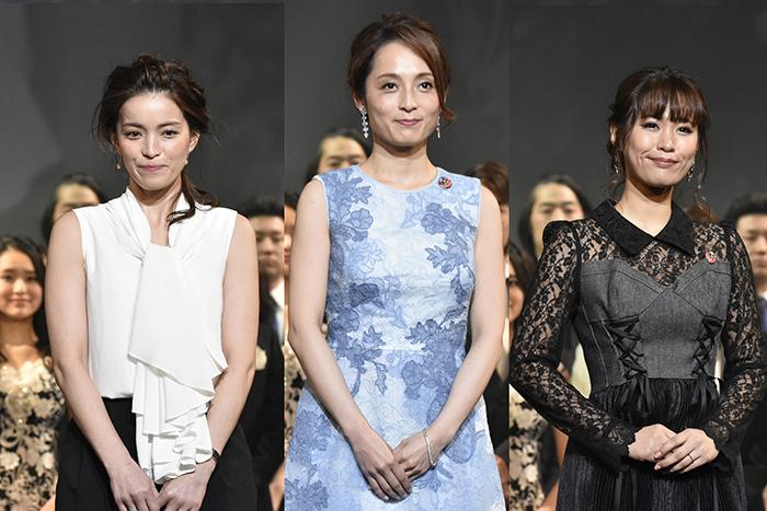 (左から)知念里奈、和音美桜、二宮愛(撮影:原地達浩)