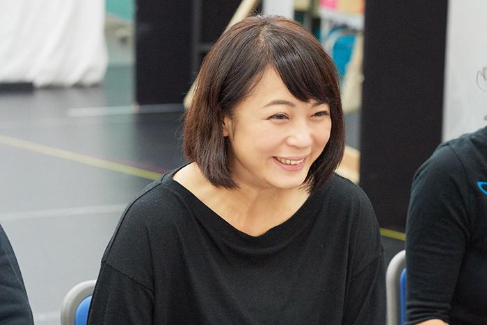 満面の笑みの佐藤仁美さん