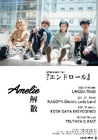 Amelie、解散を発表 ラストツアーは7月の東名阪と地元・越谷