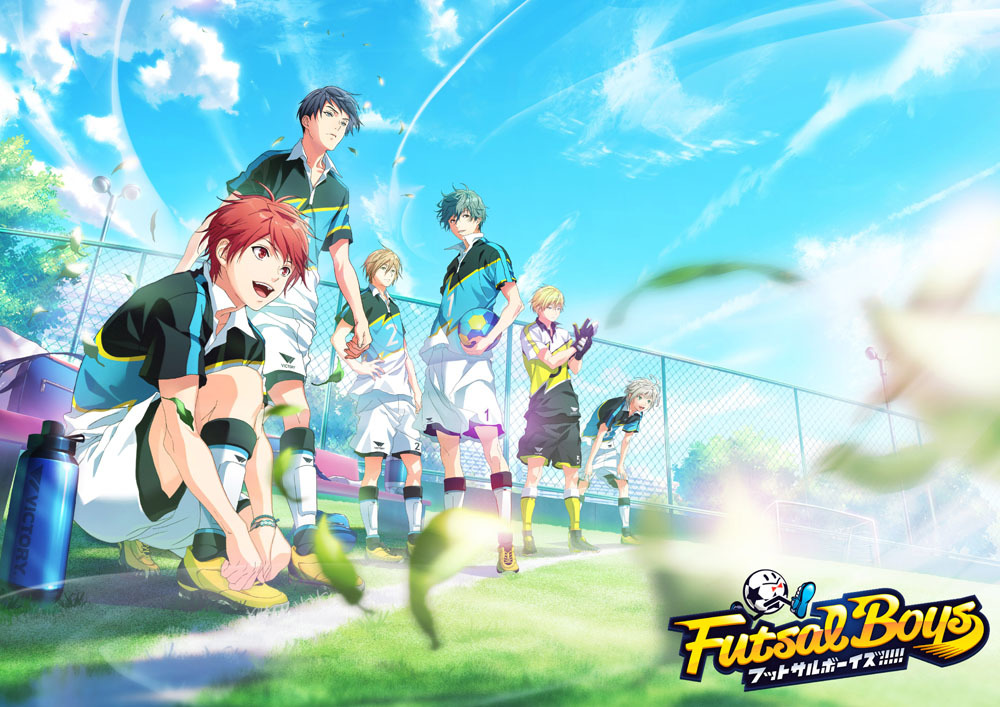 恒陽学園キービジュアル (C)FUTSAL BOYS!!!!! ORIGINAL WORK