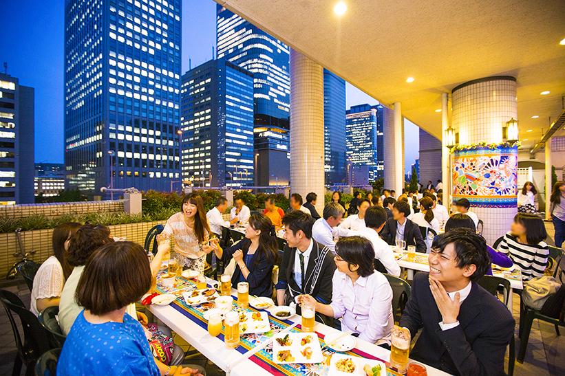 ANAクラウンプラザホテル大阪 ビアガーデン2016