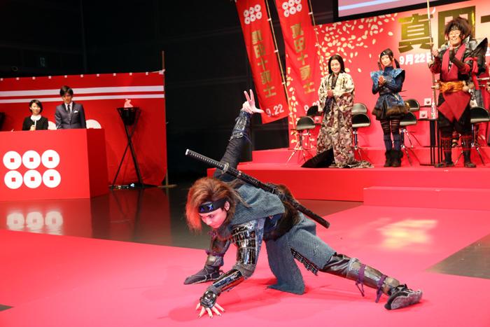 石垣佑磨/映画「真田十勇士」