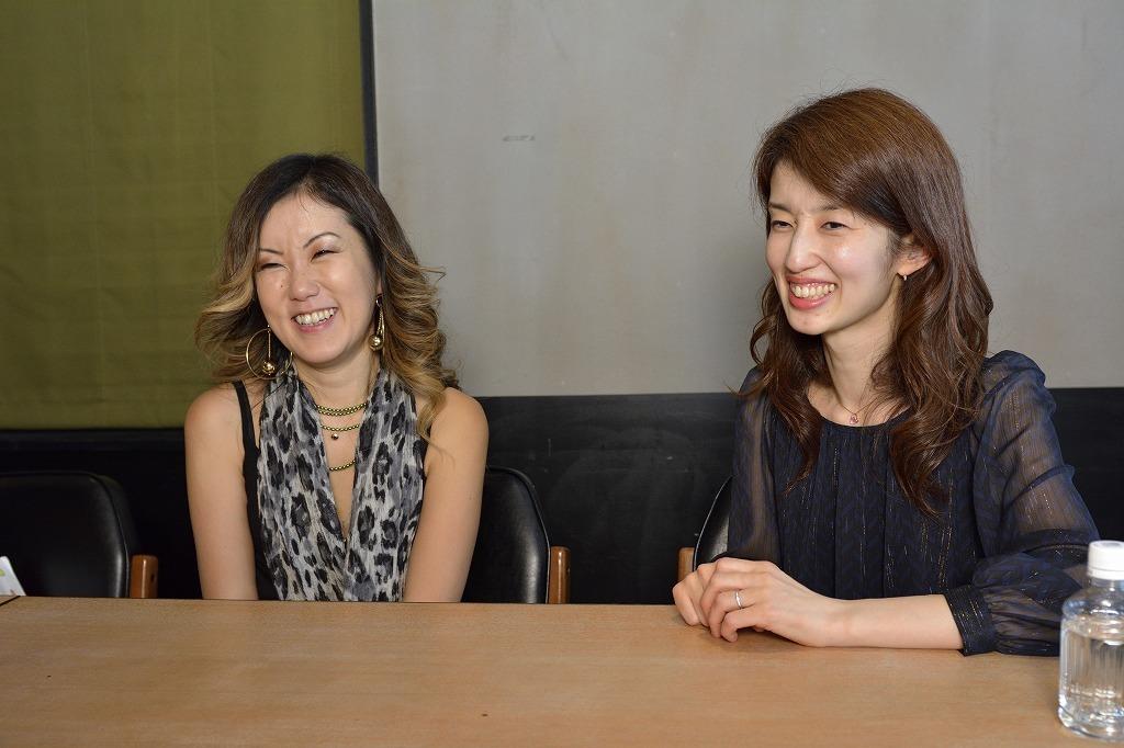 (左から)藤井香織、藤井裕子