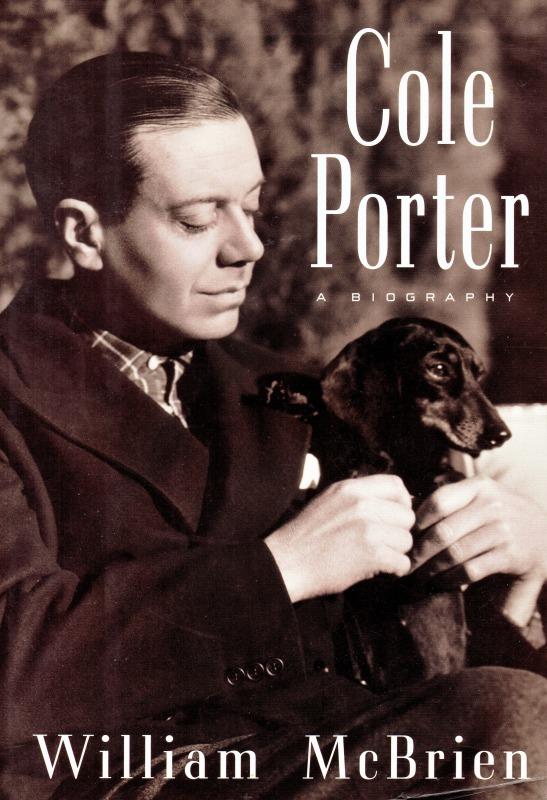 ポーターと愛犬をあしらった伝記本表紙(1998年刊)