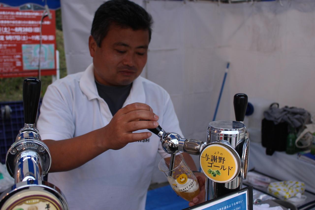 「KONISHIビール」(兵庫)与謝野ゴールド