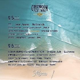 『GREENROOM FESTIVAL'20』clammbonの出演を発表