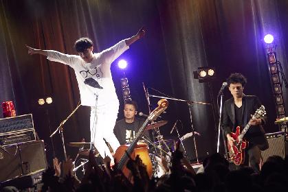 天才バンド、東名阪ツアーファイナルで全国7都市をまわるワンマンを発表