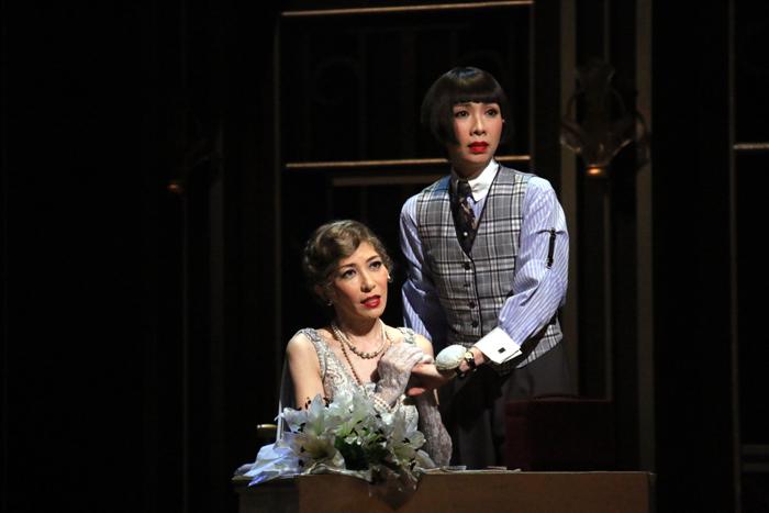 安寿ミラ、樹里咲穂/ミュージカル「グランドホテル」