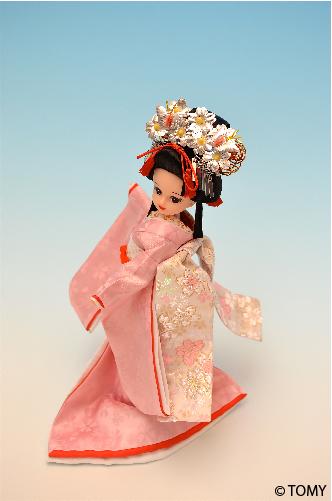 「桜祭りリカちゃん」