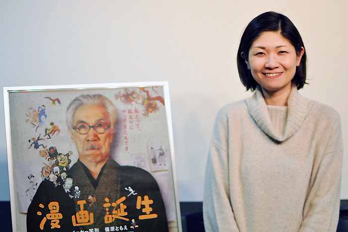 大木萠監督 [撮影]吉永美和子